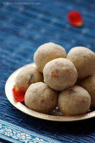 Blend with Spices: Poha Peanut Laddo Recipe - Atukula Palli Ladoo- Aval Laddu - Easy Gokulashtami Naivedyam Recipes