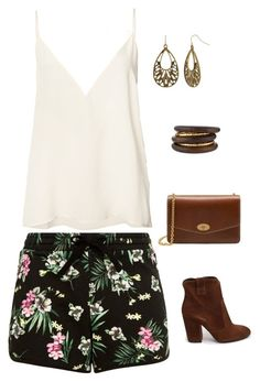 """""""Untitled #1708"""" by netteskytte on Polyvore featuring Strategia, Anine Bing, Mulberry, Bold Elements and NEST Jewelry"""