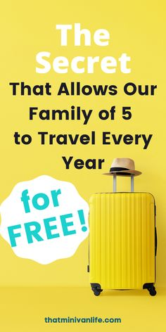 So many people struggle with how to save money for travel. You want to travel the world and take elaborate vacations but you just can't afford to. Well with these budget travel tips and budget travel hacks I can show you how our family of 5 travels for free. It's time to learn all about miles and points travel with this post on travel hacking for beginners. Packing Tips For Travel, Travel Hacks, Travel Essentials, Budget Travel, Time Travel, Us Travel, Family Travel, Road Trip With Kids, Travel With Kids