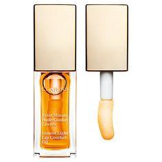 Buy Clarins Instant Light Lip Comfort Oil, Honey Online at johnlewis.com
