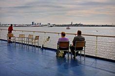 #Apontamentos fotográficos da #viagem de Helsínquia para #Tallinn, no barco Tallink Shutle, através das águas do Mar Báltico