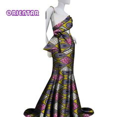 2019 Women African Clothes Long Skirt Set African Print Sexy Tops and Skirts Elegant Lady Bride Wedding Party Dress African Tops For Women, Womens Sleeveless Tops, African Dress, Wedding Party Dresses, Elegant Woman, Two Pieces, Skirt Set, Lady, Printed