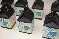 Milkcontainer Party Favours Party Favours, Favors, Container, Boxes, Basteln, Gifts, Crates, Box, Cubbies