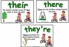 difference btwn there their & they're #rueswritingtips