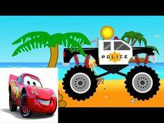 HOẠT HÌNH Ô TÔ ✪✪✪ Xe Ô TÔ CẢNH SÁT- Xe KHỦNG- XE TẢI- PHIM HOẠT HÌNH . Phim hoạt hình dành cho trẻ em