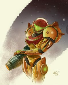This has always been one of my favorite pictures of Samus.