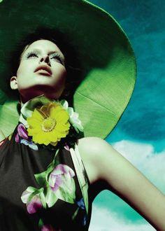..Magazine: Elle, January 2011, Canada  Photography: Jean Claude Lussier Model:  Pamela Bernier
