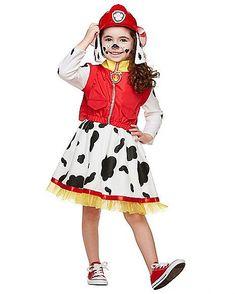 Toddler Dress Marshall Costume - Paw Patrol - Spirithalloween.com