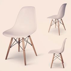 Dining Height Side Chair Wood (DSW) by Charles & Ray Eames, 1959