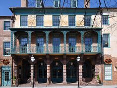 Dock Street Theater - opened in 1763, the first building in America designed for use as a theater and the 6th most haunted place in America