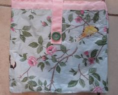 Craft mat with Flowers/Birds by HollyHomemadeGoodies on Etsy, $12.00