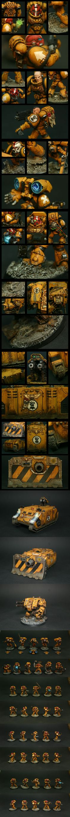 Imperial Fists Army - Correctomundo