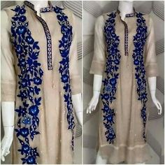 A right dress is what a woman would settle for when it comes to any occasion or party. Our detailed portfolio of party wear dresses is regularly updated Pakistani Dresses, Indian Dresses, Indian Outfits, Kurta Designs, Blouse Designs, Dress Designs, Embroidery Designs, Casual Dresses, Fashion Dresses
