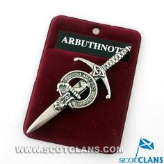 Arbuthnot Clan Crest Kilt Pin