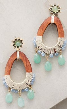 Marilou Earrings #anthroregistry