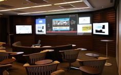 Ogilvy - Client Presentation room - designed by Verrex which has an office in NJ