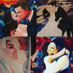 Just a couple of paintings from this year for cheshireweddingportraits by me Cheshireartbylucy. Ive really enjoyed doing them, just a little something different to remember your big day Just A Little, Wedding Portraits, Weddingideas, Big Day, Wedding Planner, Disney Characters, Fictional Characters, Paintings, Couple