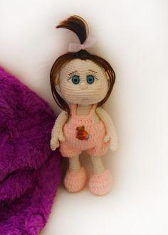 """Häkelanleitung Puppe """" Mädchen """""""