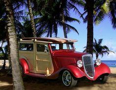'32 Ford Woodie