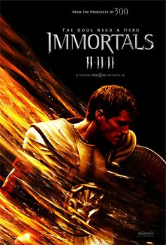 Immortals (2011) Theseus is a mortal man chosen by Zeus to lead the fight against the ruthless King Hyperion, who is on a rampage across Greece to obtain a weapon that can destroy humanity.