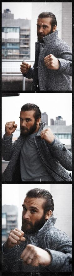 Clive Standen. But bloodier, by preference.
