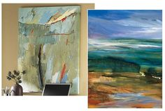 Abstracts leading to landscapes. ~ET