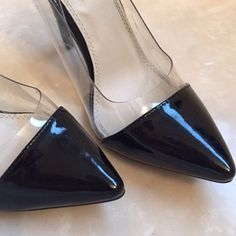 Classy black heels Reposh. I bought these too small. There's nothing wrong with them. They're actually very comfortable and would make any outfit look classy. Size 8. True to size. Great condition. Price firm. Liliana Shoes Heels