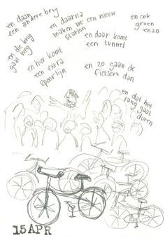 Tijdens de fullmoonbikeride even de werven van Mechelen in Bewegingbezocht