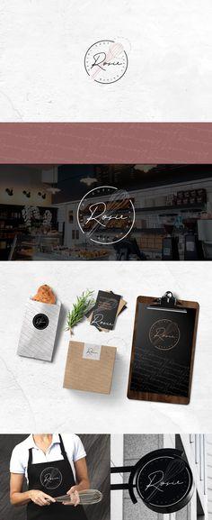 Brand Identity, Branding, Chef Logo, Logo Design, Graphic Design, Logo Inspiration, Coffee Shop, Business Cards, Bakery