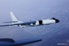 File photo shows a bombardment aircraft of the People's Liberation Army (PLA) Air Force participating in a training. Aircraft of the People's Liberation Army (PLA) Air Force flew over the Miyako Strait for the first time on May 21, 2015 for training in western Pacific, a military spokesperson said. (Xinhua/Tian Ning)