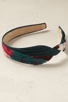 Anthropologie EU Twisted Blossoms Headband