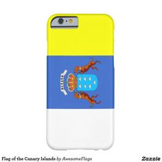 Flag of the Canary Islands Barely There iPhone 6 Case