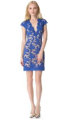 Reem Acra Lace Cocktail Dress _- Please buy this for me for my rehearsal dinner. THANKS!