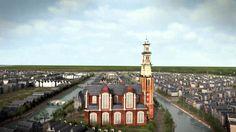 This is so cool!! De groei van de Grachtengordel / Expansion of Amsterdam in the Seventeen Century