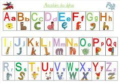 Here is the Alphabet alphabet! It allows students at the end of PS, MS and early GS to associate: -the alphas: we put the alphas figurine on the corresponding alpha -the letters … - French Language Lessons, French Language Learning, Language Arts, Preschool Art Activities, Educational Activities, Children Activities, Language Activities, Alphabet Alpha, Autism Education
