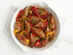 Sausage and Peppers // looks amazingly comforting and hearty