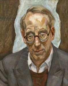 Red Haired Man with Glasses, 1987-88 (oil on canvas)Lucian Freud