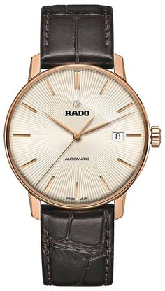 Rado Watch Coupole L #bezel-fixed #bracelet-strap-leather #brand-rado #case-material-rose-gold-pvd #case-width-38mm #delivery-timescale-call-us #dial-colour-ivory #gender-mens #luxury #movement-automatic #official-stockist-for-rado-watches #packaging-rado-watch-packaging #subcat-coupole #supplier-model-no-r22861115 #warranty-rado-official-2-year-guarantee #water-resistant-30m
