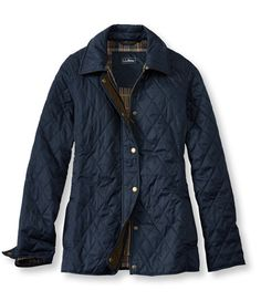 Quilted Riding Jacket. LL Bean.