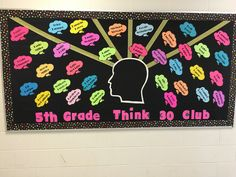 Great idea for a think 30 club bulletin board! Healthy Food List, Healthy Kids, Think Through Math, Student Motivation, 4th Grade Math, Education Quotes For Teachers, Kids Diet, Elementary Science, Quotes For Kids