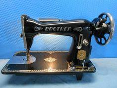 【DA85】ミシンブラザーレトロアンティーク インテリア 雑貨 家具 Antique sewing machine ¥6000yen 〆04月27日