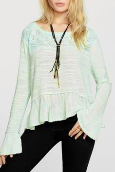 #FreePeople #Shirt #Large #Sweater #Fashion #Apparel #Shop #eBay