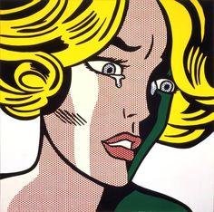 Frightened Girl, 1964 by Roy Lichtenstein © Estate of Roy Lichtenstein/DACS/Artimage 2018 #popart #comicstrip