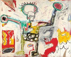 "Jean Michel Basquiat - ""Untitled"" 1982"