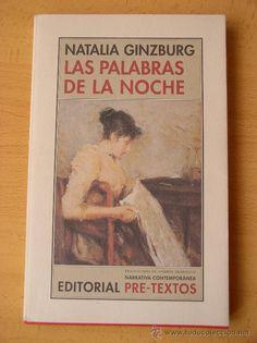 Las palabras de la noche. Natalia Ginzburg