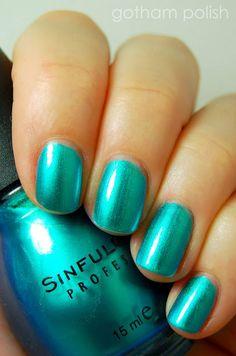 Sinful color metallic ocean