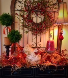 The Tuscan Home: Building A Fall Vignette + Video