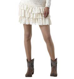 Promod lace skirt