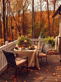 A better table, some cushions for our chairs and we will definitely enjoy some meals on the deck this fall