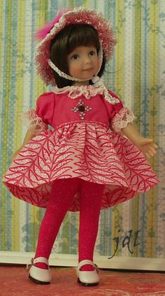 "Heartstring Effner 8"" Doll by JDL Doll Clothes jdldollclothes.com"